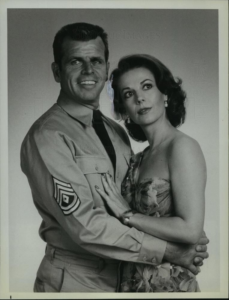 1979 Press Photo William Devane Natalie Wood In From Here To Eternity