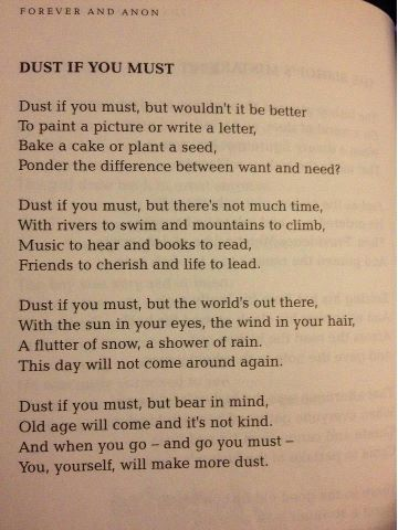 Dust If You Must Ner A Truer Word Spoken Life Quotes Dust If