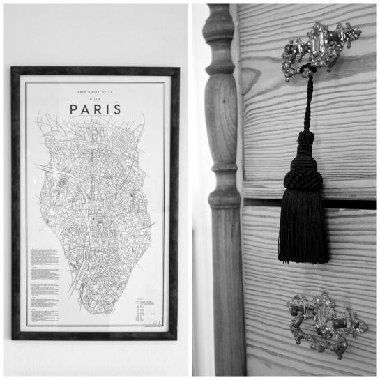 homevialaura | Paris on my mind | parisian style | David Ehrenstråhle Guide to Paris | antique dresser | tassel