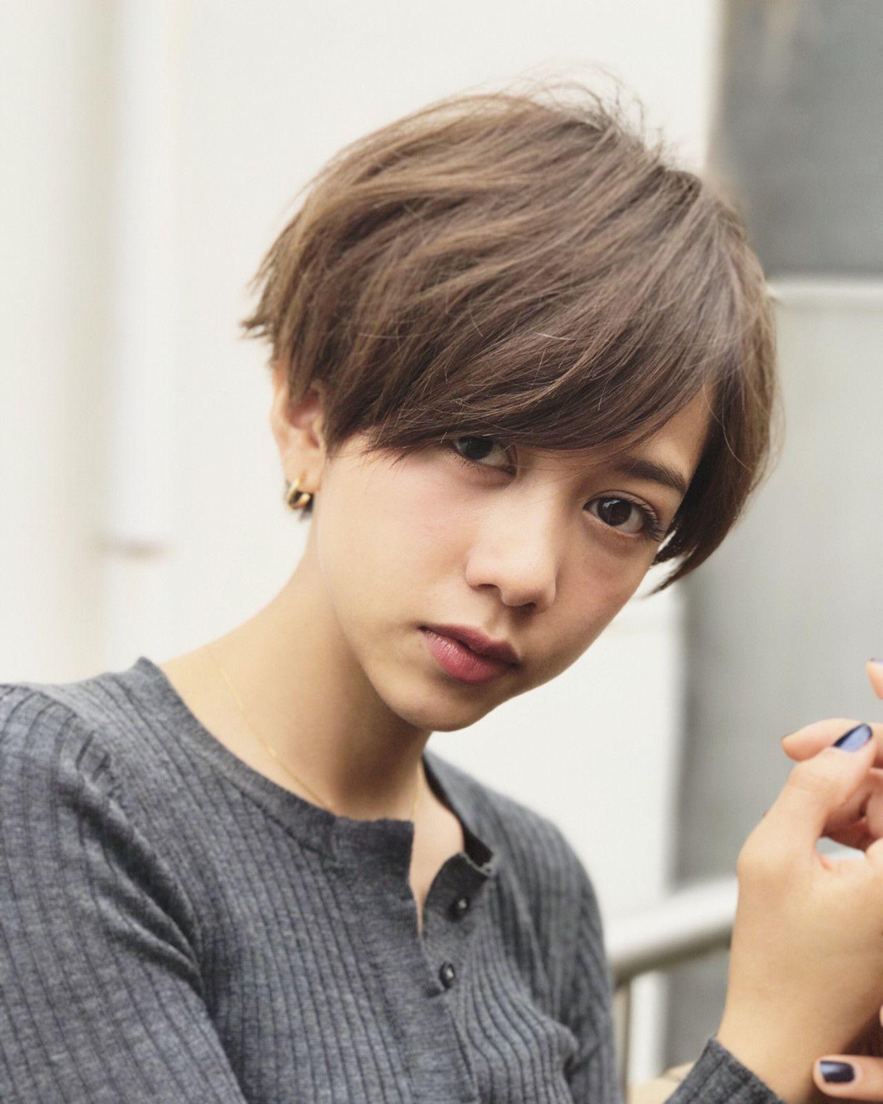 ☆バサッとしたシンプルショートヘア☆ ✂︎ ✂︎ ✂︎ ✂…