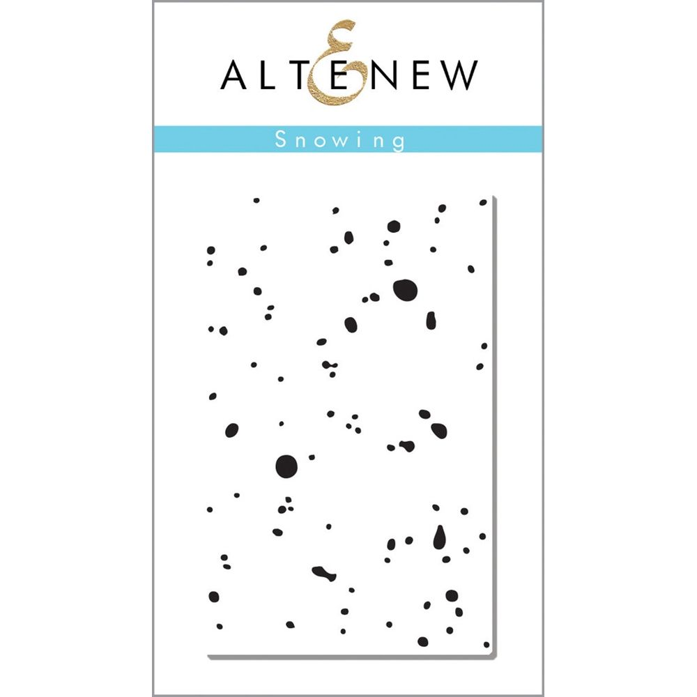 Altenew SNOWING Clear Stamp Set  zoom image