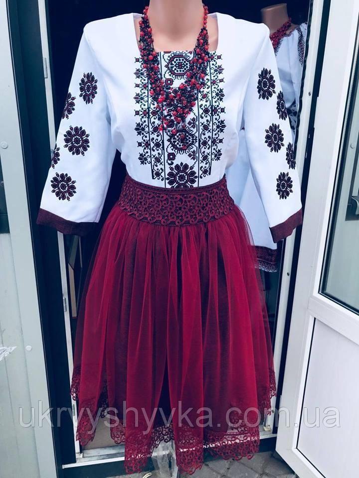 053be988fa6686 Плаття вишиванка