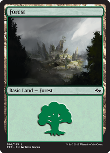 Forest #243 //// Foil //// Avacyn Restored //// MTG Magic //// See Picture