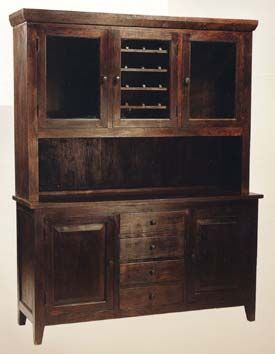 Hutch With Wine Rack Living Room Kitchen Dining Rooms