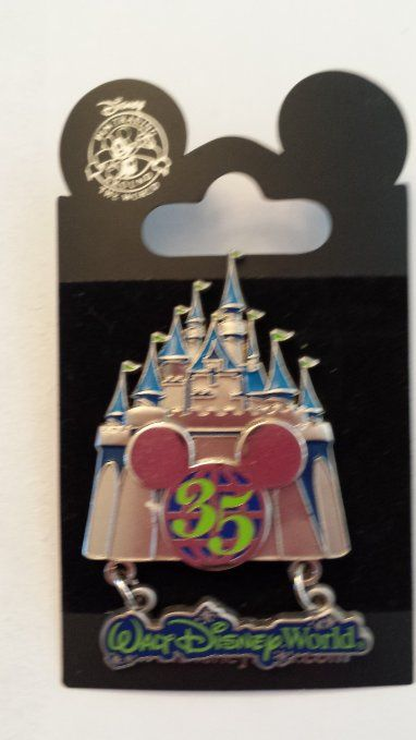 2006 Walt Disney Worlds 35th Anniversary Disney Pin Trading Collectible Lapel Pins