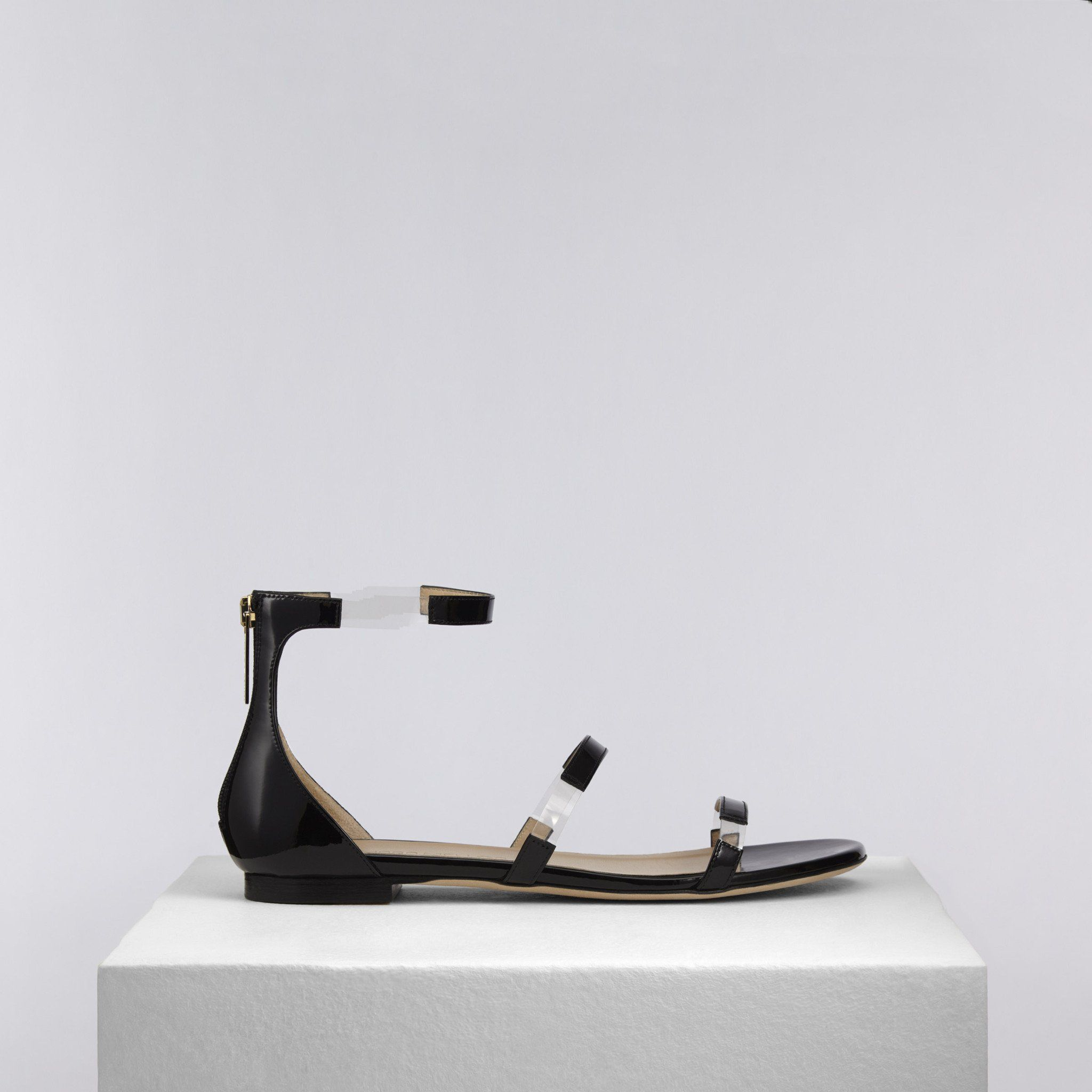 Black sandals jones - Black Sandalsflats