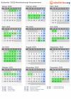 Kalender 2020 Mit Ferien Und Feiertagen Mecklenburg