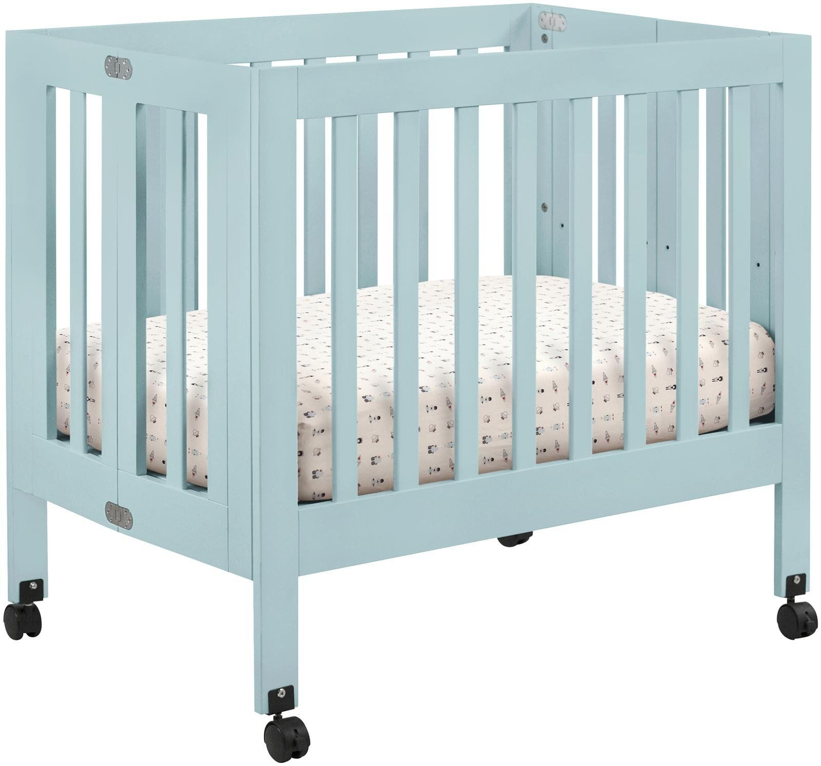 dream with portable folding children mattress on crib sets mini throughout bedroom dark bedding delta espresso