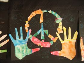 Color, collage, and much more: Peace-a-palooza