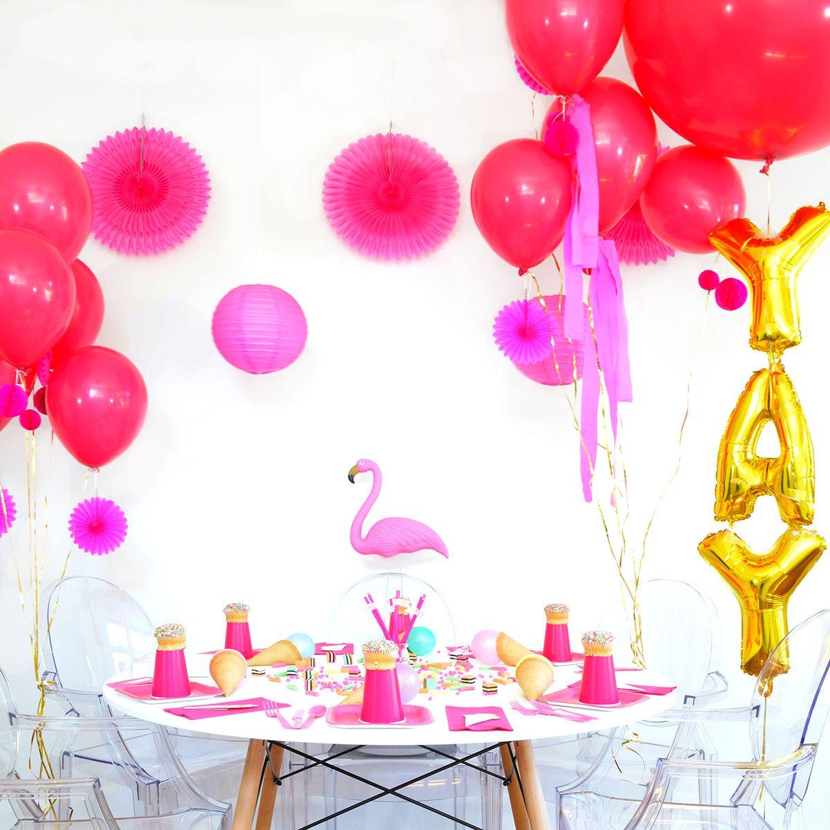 flamingo full table square | Party Ideas | Pinterest | Pink flamingo ...