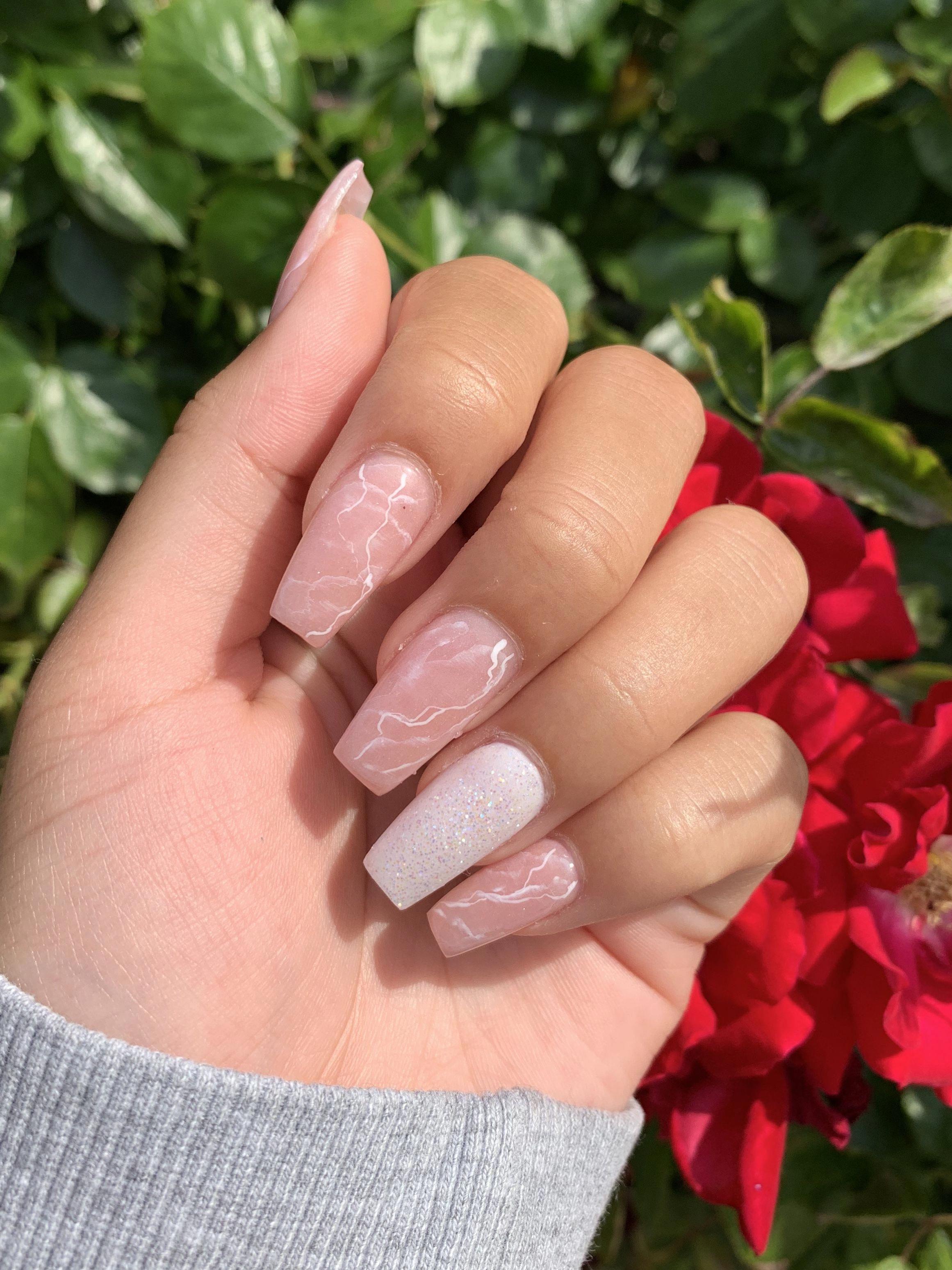 Pintereѕt Sara Legito Nail Designs Nails Diamond Nails