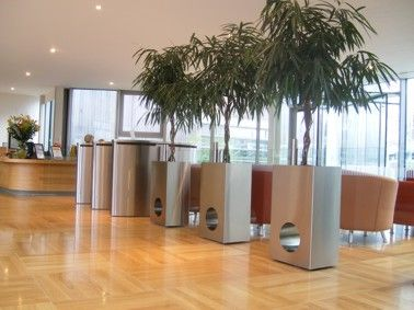 Perfect Modern Office Planters