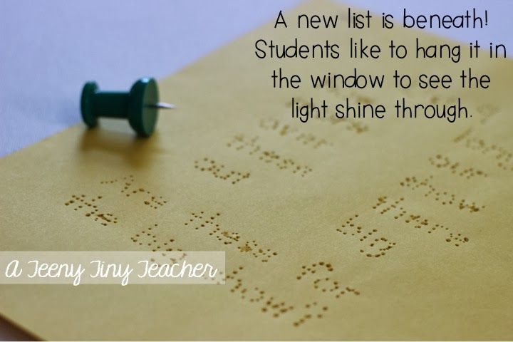A Teeny Tiny Teacher: Pin It - Sight Word Edition (and a freebie)