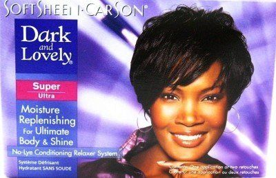 Dark And Lovely Relaxer Kit Super 3 Pack With Free Nail File