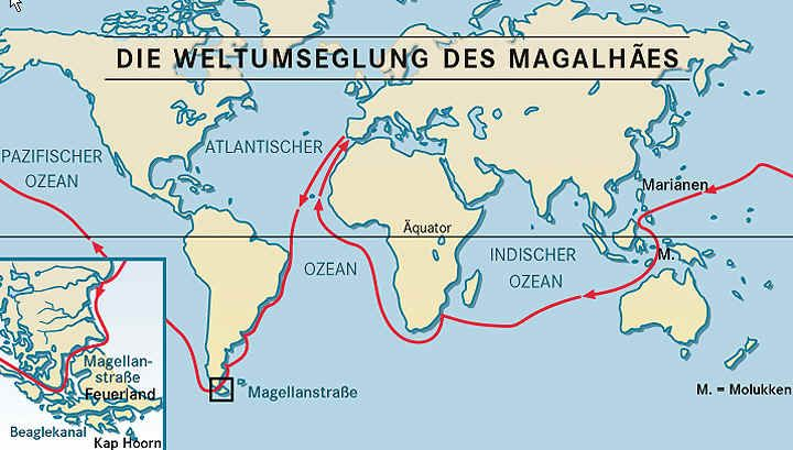Route of Magellan Historical Maps Pinterest