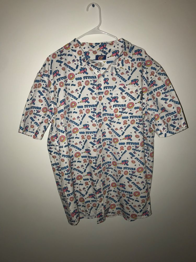 f1050d65be5020 New Odd future button up sizeXL  fashion  clothing  shoes  accessories   mensclothing  shirts (ebay link)