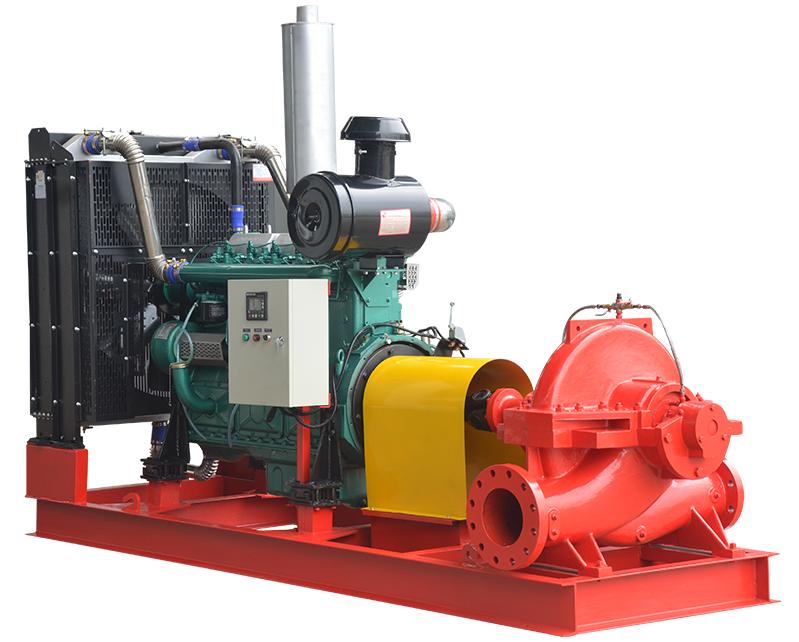 Diesel Engine Fire Fighting Pump,Split casing fire water
