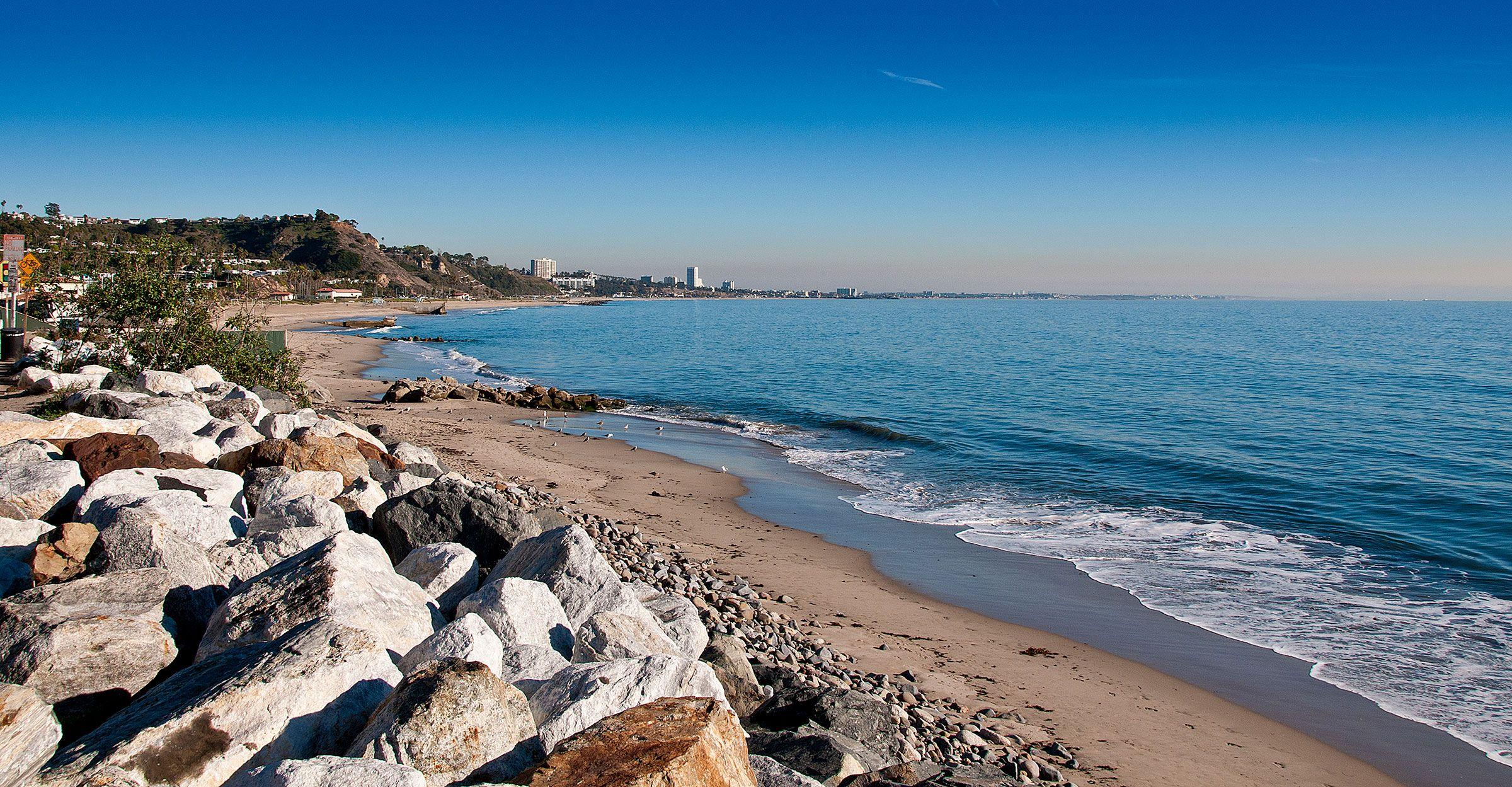 La County Beach Bike Path Beaches Harbors Beach Fire Beach Fire Pit Beach