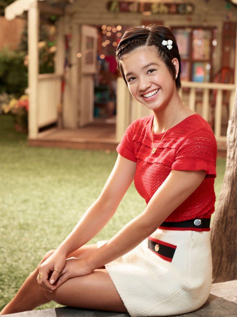 MACK - Disney Channel's Andi Mack stars Peyton Elizabeth Lee as...