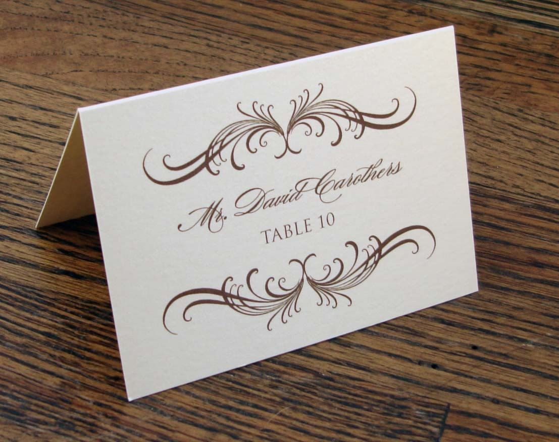 Table Setting Name Cards   http://lachpage.com   Pinterest   Table ...