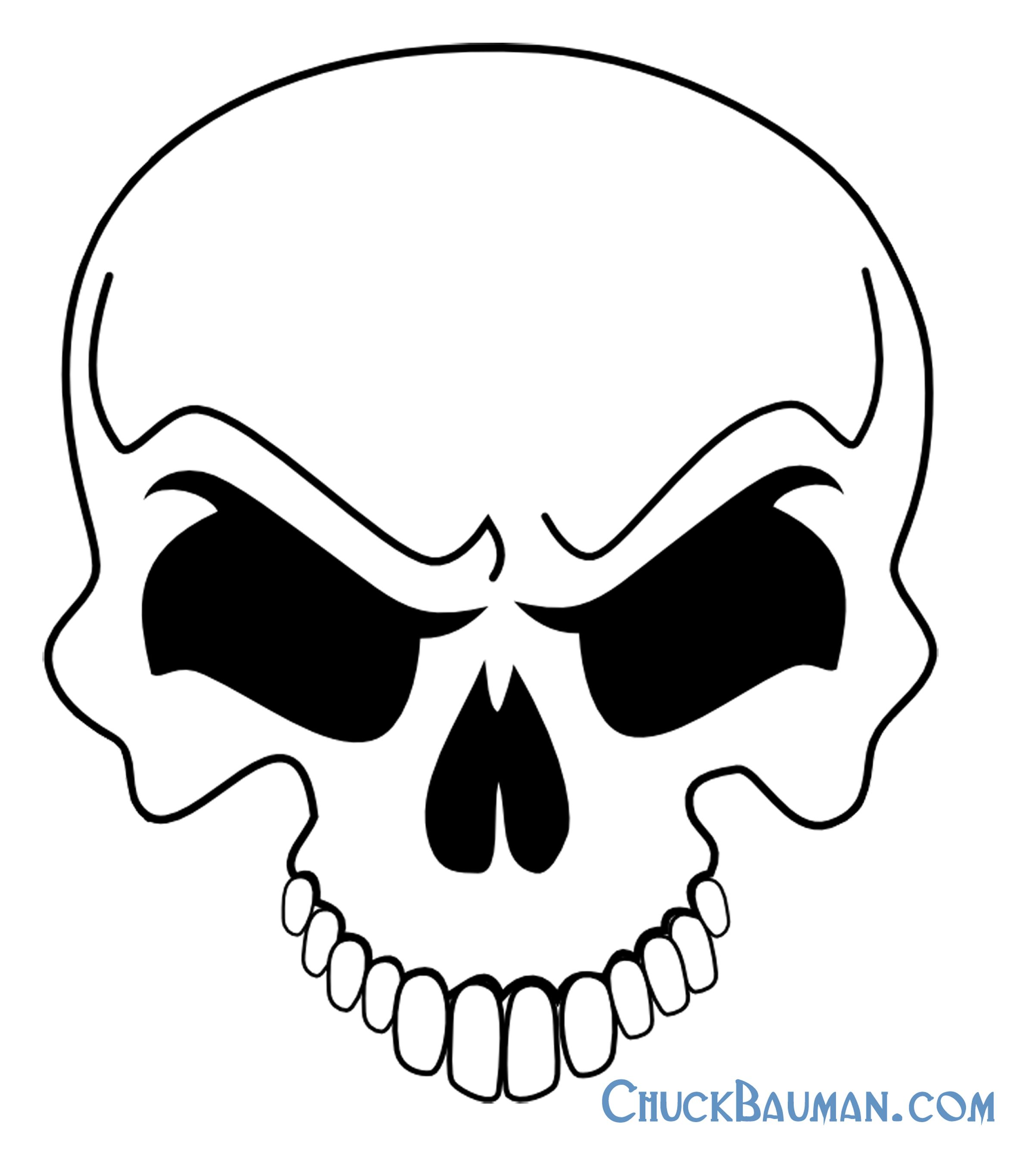 Free skull tattoo designs to print - Skulls Airbrushing Free