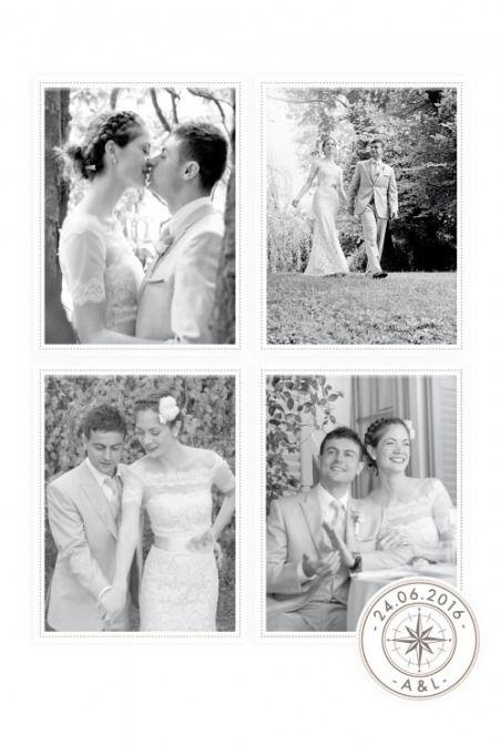 1000 images about ides mariage ah les voyages on pinterest - Carte Remerciement Mariage Original