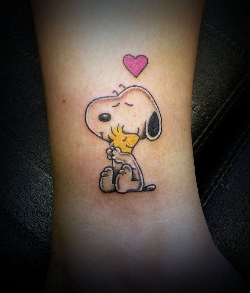 Snoopy Tattoos Snoopy By Taigeri Tattoo Snoopy Tattoo Beagle