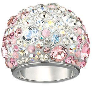 b9f59ad74 $270.00 Swarovski Crystal Chic Multi Pink Ring From SWAROVSKI Get it here:  http:/