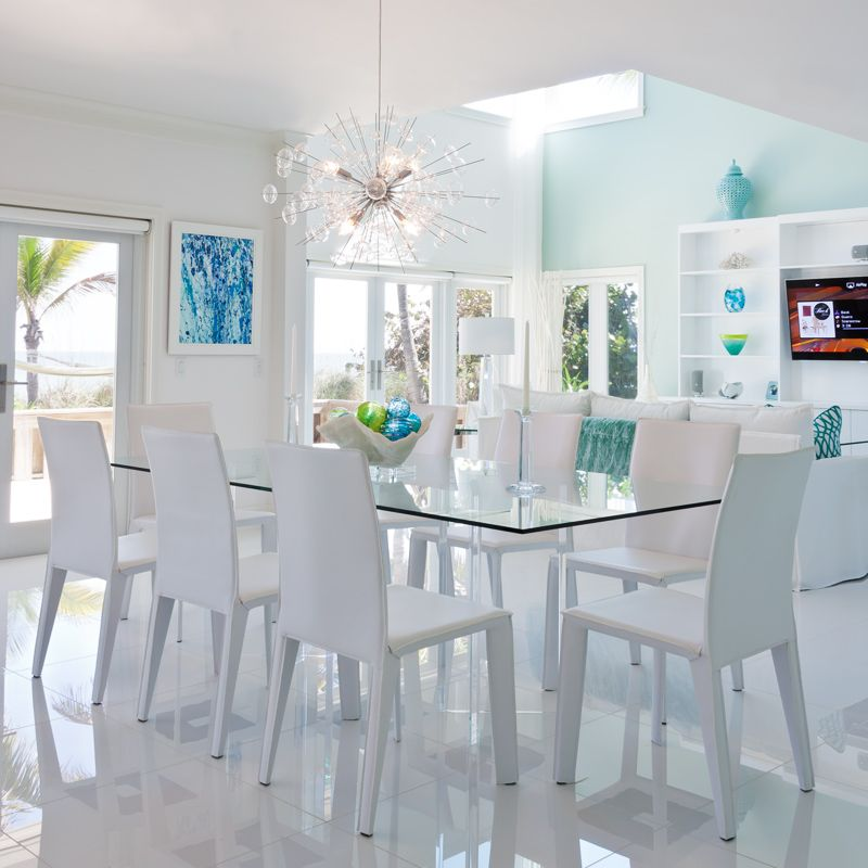 Dining Room Of Seaside Home In Vero Beach Florida Interior Photography By Aric Attas Photographed For Life Design Magazine