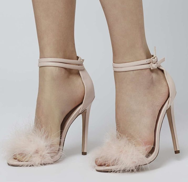 Topshop 'Reese' feather sandals | Topshop, Feathers and Sandals