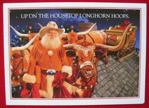 a texas christmas card