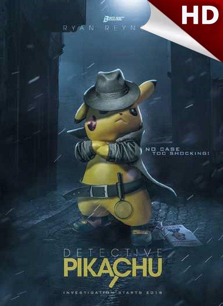 Watch 2019 Pokemon Detective Pikachu Full Movie Ryan Reynolds Online Free Streaming Blueray Hd Pokemon Detective Pikachu Pikachu Pokemon Detetive