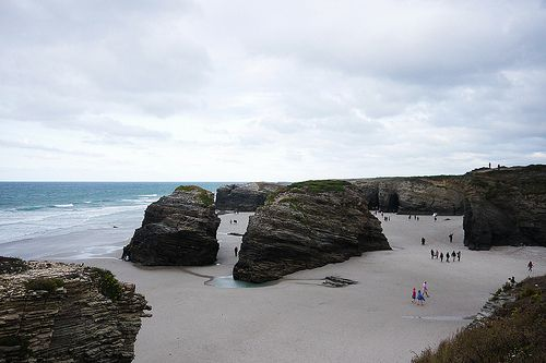 playa de las catedrales instagram