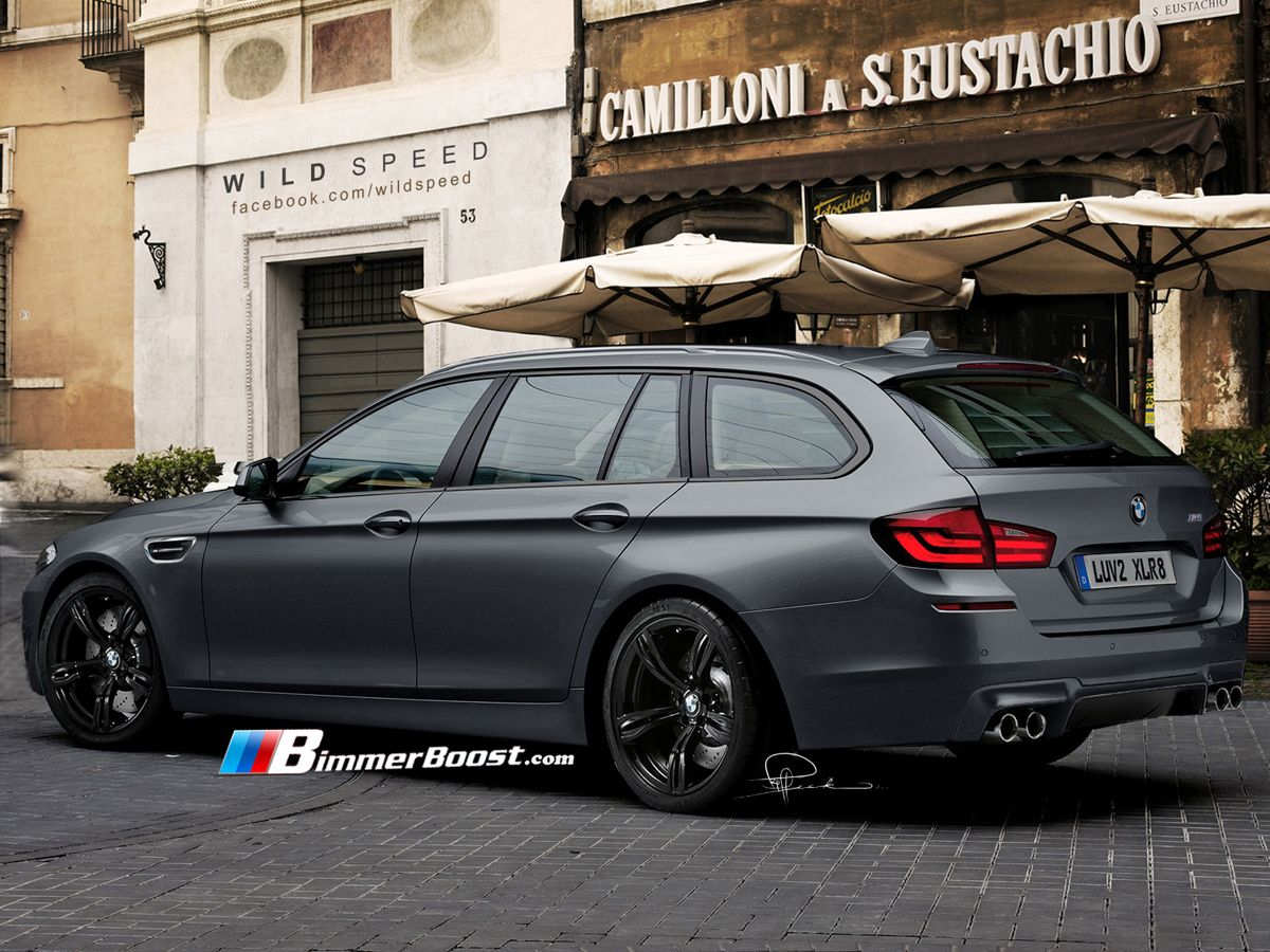 BMW M5 Touring...WHAT ELSE WOULD YOU TAKE YOUR KIDS TO SOCCER PRACTICE IN!?!