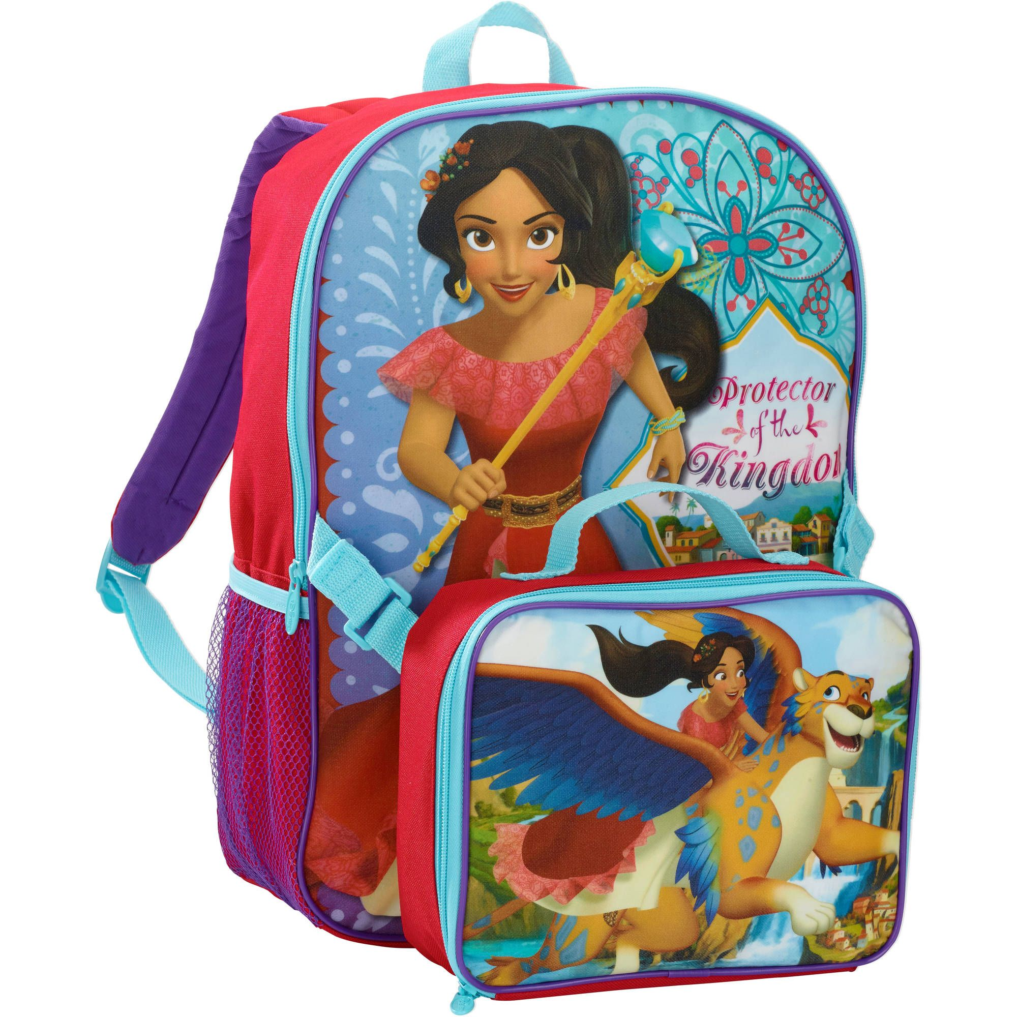 elena of avalor backpack with lunch kit walmart back to