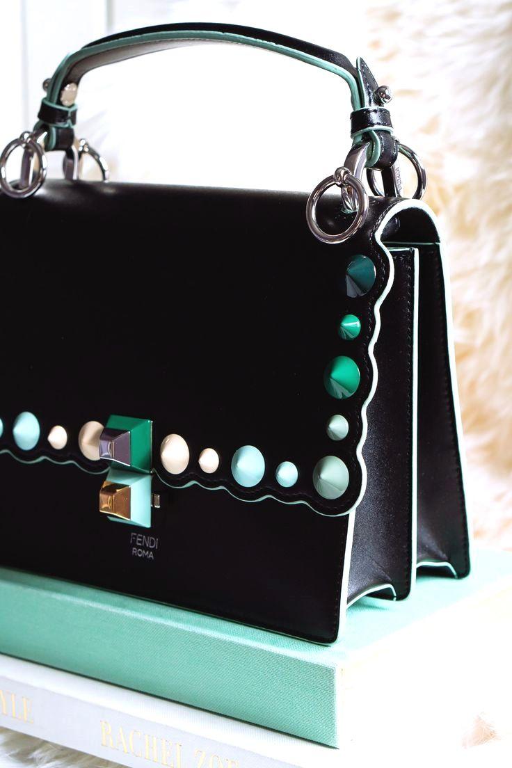 9e54fe6d97a1 Fendi peekaboo pearl bag black