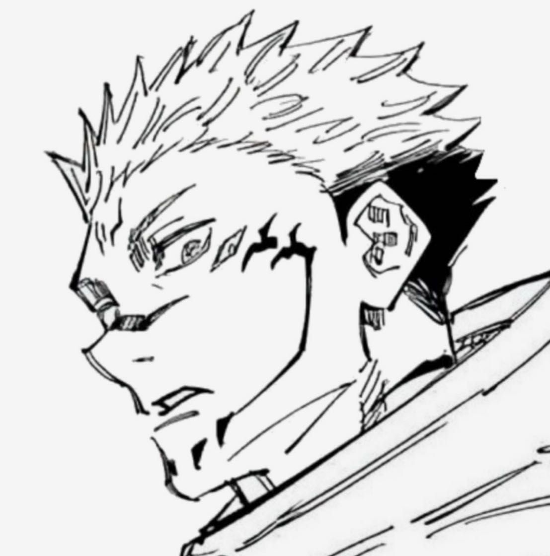 Jujutsu Kaisen One Shots Sukuna Why Can T You Be Mine Jujutsu Anime Lineart Aesthetic Anime