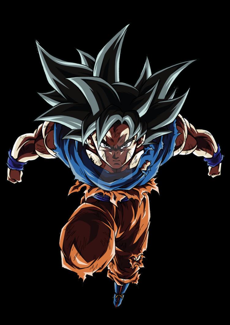 Goku Ultra Instinct Sign Dbs Color 1 By Thanachote Nick Anime Dragon Ball Super Dragon Ball Tattoo Dragon Ball Super Manga