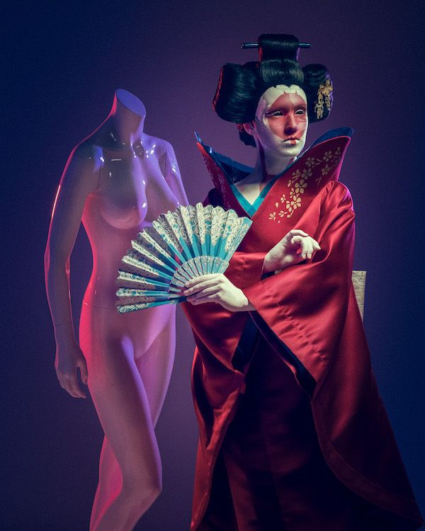 Ghost In The Shell Robot Geisha Cosplay Ghost In The Shell Geisha Famous Photographers