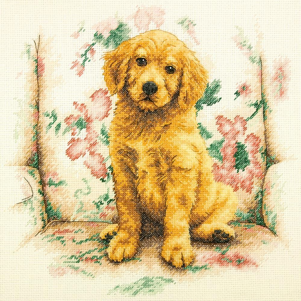 """Soft Spot Counted Cross Stitch Kit-12""""X12"""" 14 Count"""