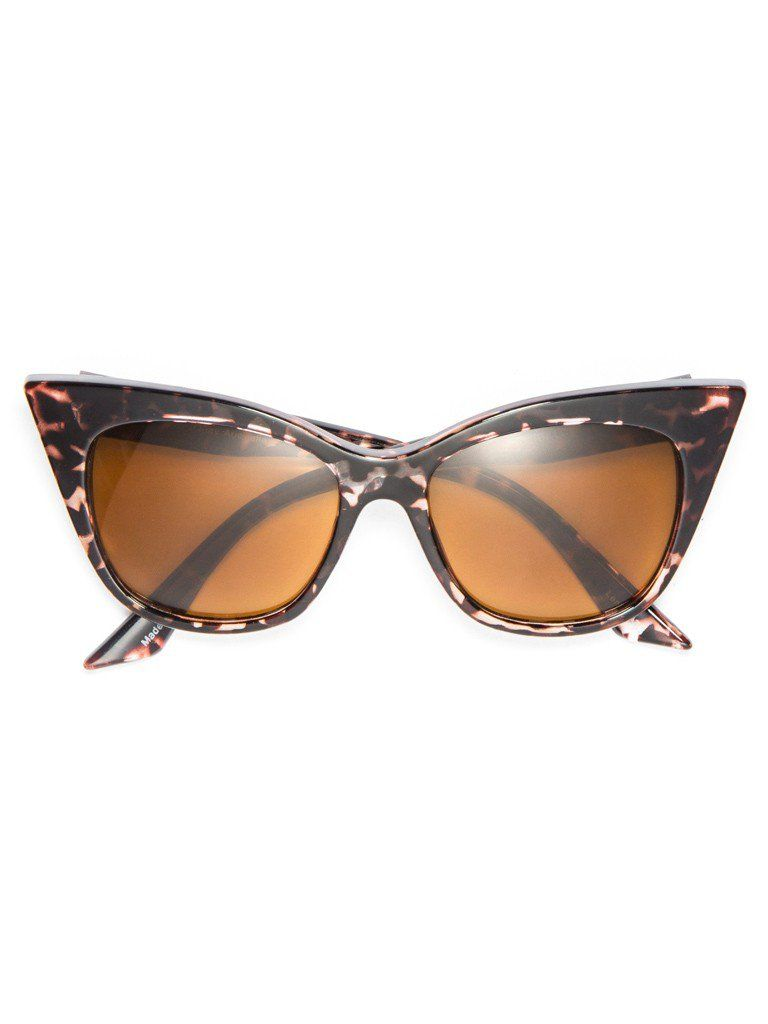 0fb40ab7e69 Cat-eye sunglasses by the Australian experts at Quay. Features handmade  acrylic frames in a classic retro silhouette + tinted lenses with 100%  UVA UVB ...