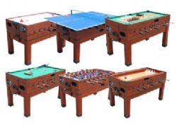 13 In 1 Combination Game Table In Cherry In 2020 Table Games Foosball Table Table