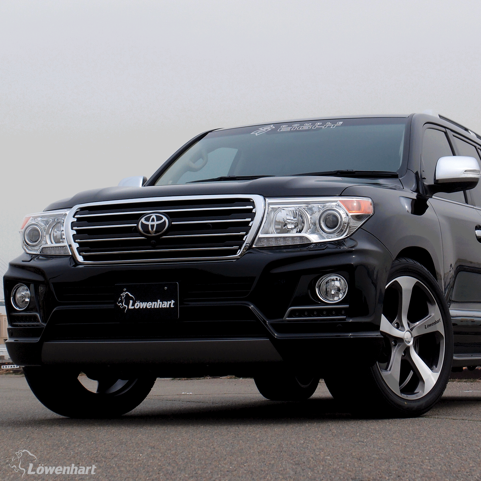 Toyota landcruiser 200 22 special thanks to gmg japan