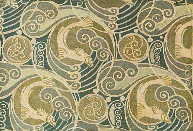 Dover Design Sampler - Full-Color Art Nouveau Designs And Motifs