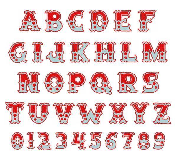 5a1306f78a08dcc2a7a21242fa598b80 Jpg 600 540 Circus Font Lettering Alphabet Fonts Alphabet