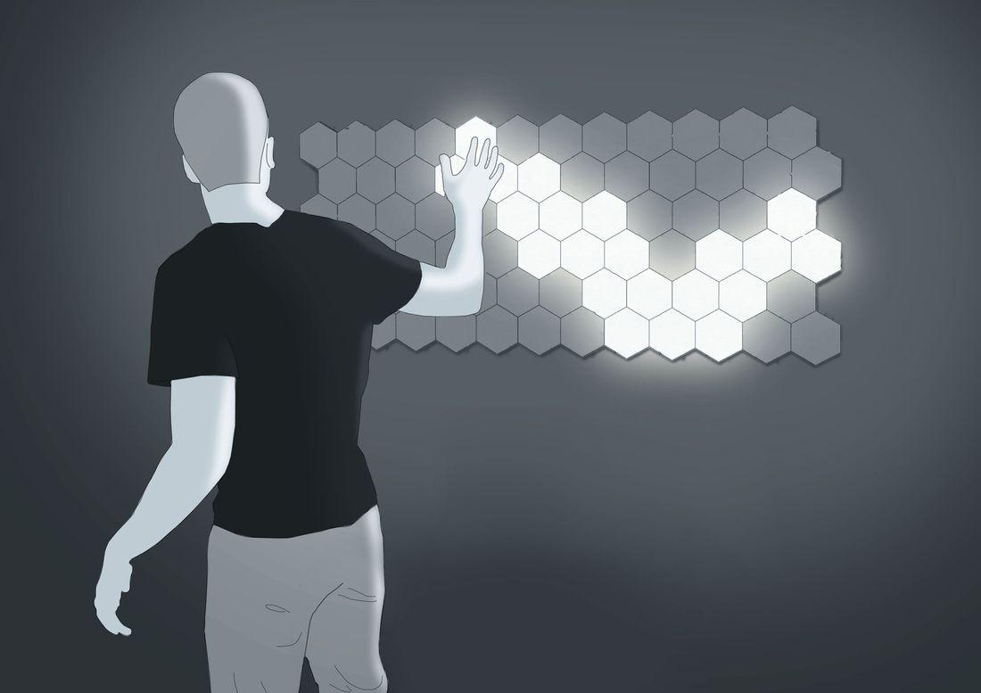 Press - Helios Touch Modular Lighting | Lighting | Pinterest