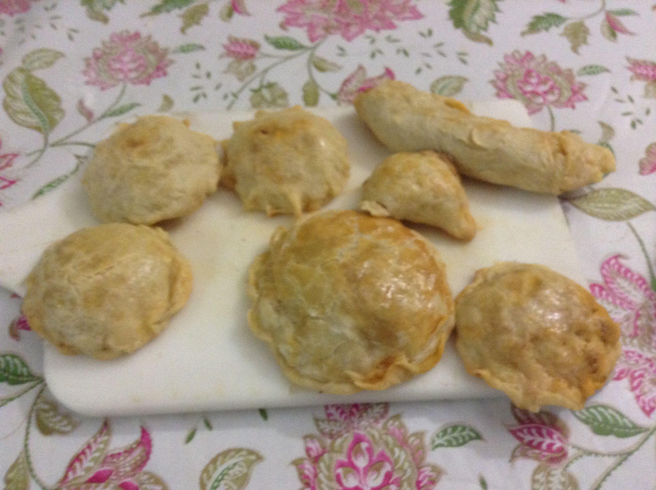 Empanadas de picadillon de pavo