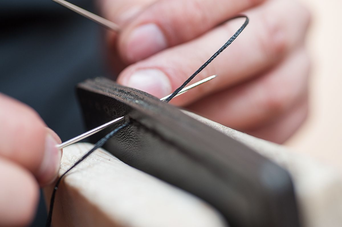 Working process.. Creating of #AkLeather production