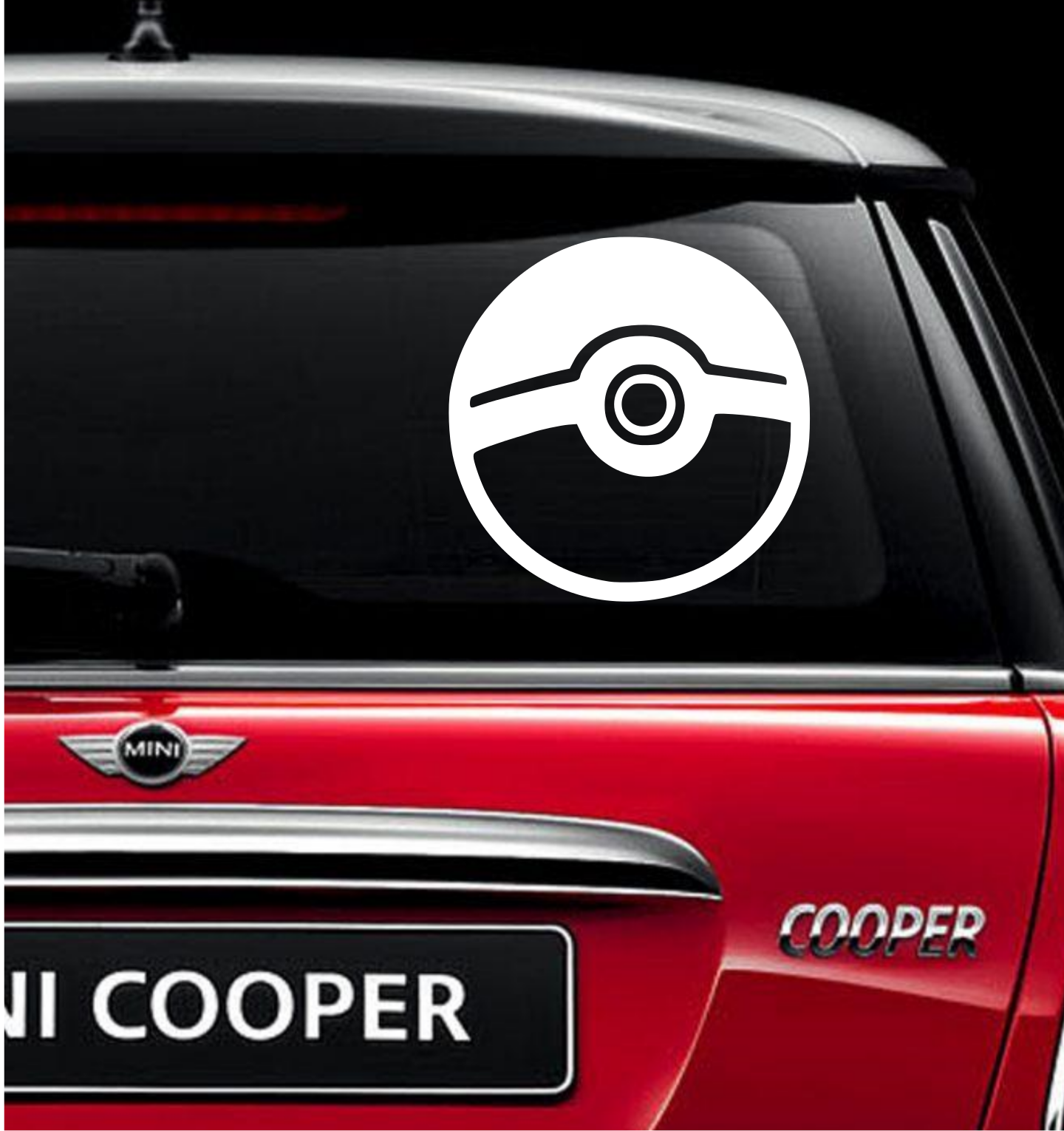 Pokeball Vinyl Decal For Car And Truck Windows Sticker Window - How to make vinyl decals by hand