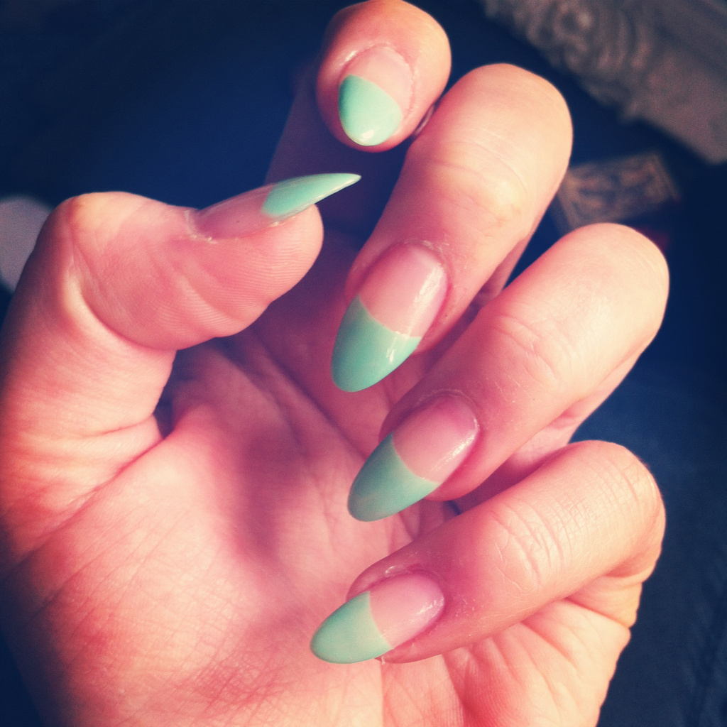 I kind of want pointed nails - yay or nay? | Nails | Pinterest ...